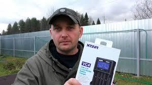 ЛУЧШЕЕ Интеллектуальное <b>зарядное устройство XTAR VC4</b> ...