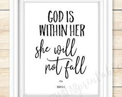 Strong Christian Woman Quotes Best of Strong Woman Quote Etsy