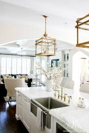 white kitchen lighting. They Hang Above The Island Like A Statement Piece Around Classy Lady\u0027s Neck. All Of Our Kitchen Lighting Was Purchased Through White