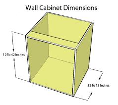 kitchen cabinet dimensions kitchen