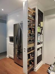 next to fridge pantry