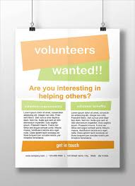 Volunteer Flyers Samples 11 Volunteer Flyers Ms Word Pages Psd Vector Eps