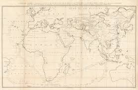 Chinese General Chart Details About 1796 A General Chart On Mercator S Projection To Shew The Track Of The Lion And