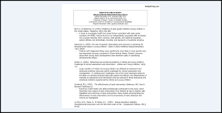 023 Research Paper Bibliography Sample Annotated Museumlegs