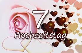 7 Hochzeitstag Glückwünsche