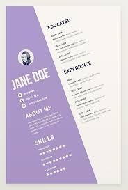 Eye Catching Resume Templates Microsoft Word The 17 Best Resume Templates For Every Type Of Professional
