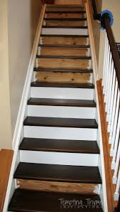 Best  Redo Stairs Ideas On Pinterest - Unfinished basement stairs