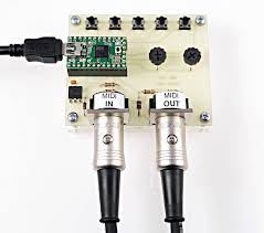 midi library for communication musical instruments midi connects using the uart s transmit and receive pins