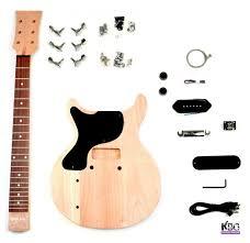 left handed lp junior style guitar kit