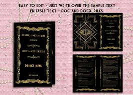 Drink Menu Templates Microsoft Word 12 – Imzadi Fragrances