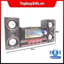 Dàn âm thanh tại nhà - loa vi tính hát karaoke có kết nối bluetooth usb isky  - sk345/sk335u siêu bass hai kênh 2.1 tặng kèm mic hát -loa giá rẻ-loa chất