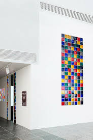 multi colored glass block window in a minimalist luxury home innovate building solutions