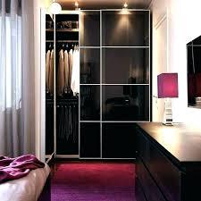 mirror closet doors bedroom black brown wardrobe with grey glass sliding ikea bathrooms designs pictures i
