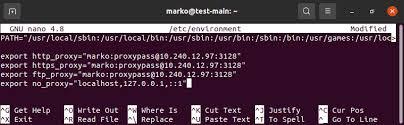 configure proxy settings on ubuntu 20 04