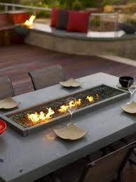 fire pit dining table. Dining Table Outdoor Fire Pit For Elegant Patio Fireplace