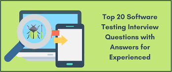 Top 20 Interview Questions Top 20 Software Testing Interview Questions With Answers For