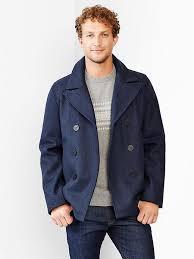 gap short wool peacoat