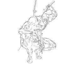 Deadpool Coloring Printable Best Jokingartcom Deadpool 2 Coloring