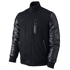 battle leather sleeves jacket main
