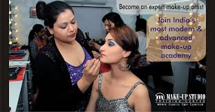 make up studio training center in jaipur