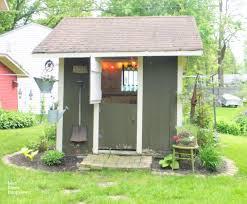 traditional potting sheds