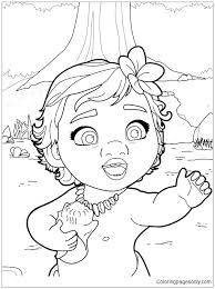 Moana Coloring Pages Printable Coloring Pages Printable Coloring In