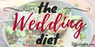 Wedding Meal Planner The Wedding Diet Meal Plan Week 1 Allys Cooking