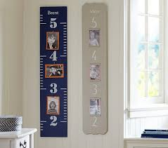 Kids Growth Chart Wooden Kids Growth Charts Pottery Barn Kids