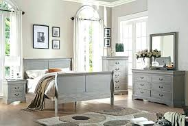 charming grey wood bedroom furniture with solid sleigh set gray from rustic great best rust