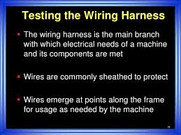 wire harness test simple 14<br > 15