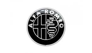 alfa romeo logo black and white. 100 alfa romeo logo medallion aluminum necklace with black and white