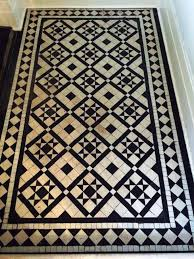Black And White Tiles Victorian Black And White Tiles Cleaned And Sealed In Windermere