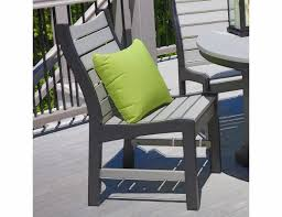 contemporary dining chair patio seating