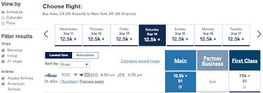Alaska Air Mileage Award Chart Alaska Airlines Miles Value Million Mile Secrets