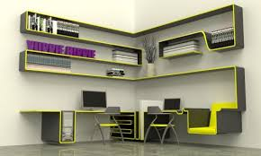 Office furniture design ideas Gorgeous Compact Minimalist Office Furniture Concept Design The Lux Home Minimalist Modern Home Office Furniture Concept For Small Spaces