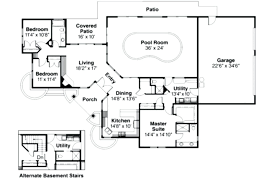 pool house plans with bedroom.  With Small House Plans With Indoor Swimming Pool Plan  Intended Pool House Plans With Bedroom E