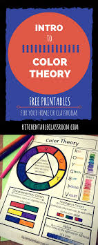 Use our printable color wheel for lots of colorful activities for little artists. Intro To Color Theory Free Printable Color Wheel And Color Theory Homeschool Giveaways