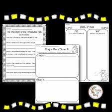 in my unit of the true story of the 3 little pigs a fractured fairy tale i include a number of diffe activities to help students identify important