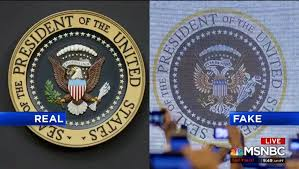 Image result for fake presidential seal image