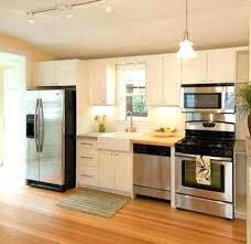 marble wallpaper kitchen island one wall kitchens cart islands long on with breakfast bar desi