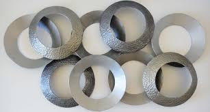 abstract metal wall art. Abstract Metal Wall Art Circle