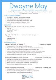 Bistrun : Best Resume Layout Chronological Format Sample 2 ...