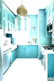 blue distressed kitchen cabinets turquoise light cabinet on