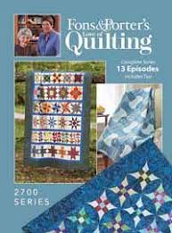 Love of Quilting TV Show- 2700 Series from ShopFonsandPorter.com ... & Love of Quilting TV Show- 2700 Series from ShopFonsandPorter.com Adamdwight.com