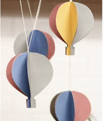 If you love Hot Air Balloons and you love to do DIY crafts, then you will  love this post! This Hot Air Balloon Mobile would add just the right touch  in any ...