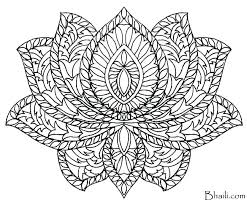 Free Flower Mandala Coloring Pages Mandala Coloring Pages Printable