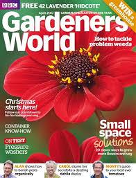 bbc gardeners world magazine april