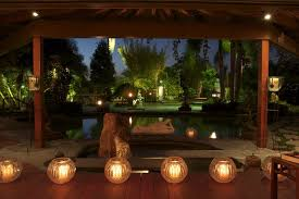 outdoor candle lighting. candle light patio asian with candles outdoor fountains and ponds lighting