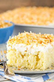 coconut poke cake pletely from scratch and easy to make