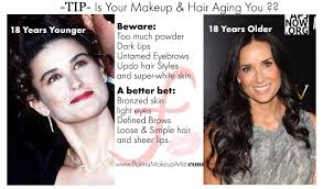makeup tips that makes you look younger how to avoid mistakes that make you look older